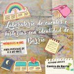 17.10.2021 Laboratorio de cuentos e historias organizado por el Centro de Barrio Estadio